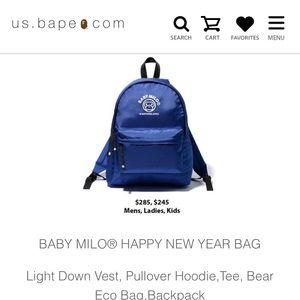 2018 Bape baby milo backpack